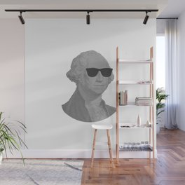 George Washington Cool Sunglasses Wall Mural