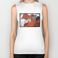 dungeons and dragons Biker Tanks featuring DUNGEONS & DRAGONS - TIAMAT by Zorio