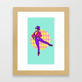 20s Ballet Framed Art Print