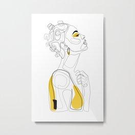 Bantu Beauty Metal Print