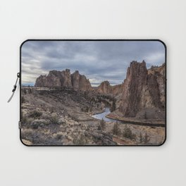 Twilight at Smith Rock State Park Laptop Sleeve