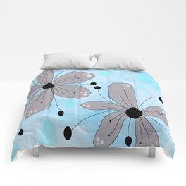 FLOWERY IZA / ORIGINAL DANISH DESIGN bykazandholly Comforters
