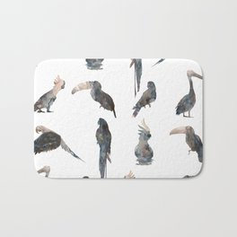 Tropical Birds Bath Mat