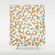 Honeycomb | Fish Bowl Shower Curtain