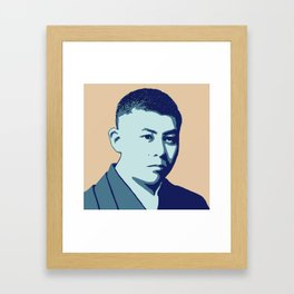 Junichiro Tanizaki Framed Art Print