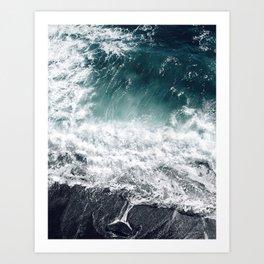 Cliffer Art Print