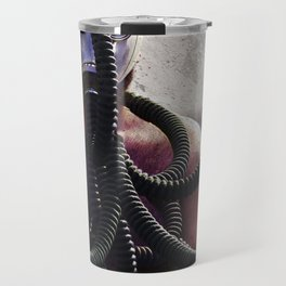Gas Mask Medusa Travel Mug