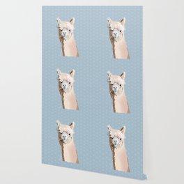 Llama lloves you Wallpaper