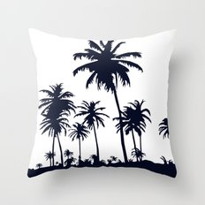 California Negative  Throw Pillow