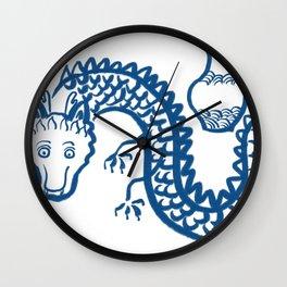 The Dragon Who Escaped Wall Clock