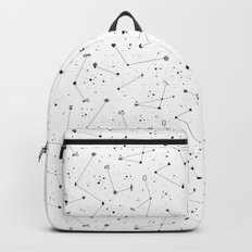 Constellations (White) Backpack