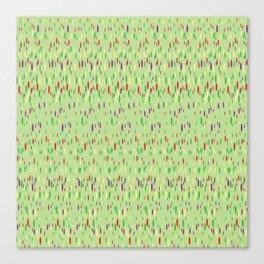Spring Speckles Artwork Canvas Print