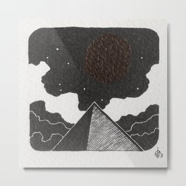 The alignement Metal Print
