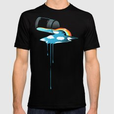 Sky in a Jar Mens Fitted Tee Black X-LARGE