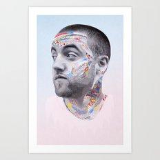 Mac Miller Art Print