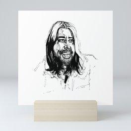 Not the pretender Mini Art Print