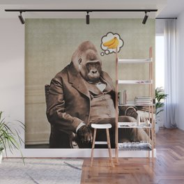 Gorilla My Dreams Wall Mural