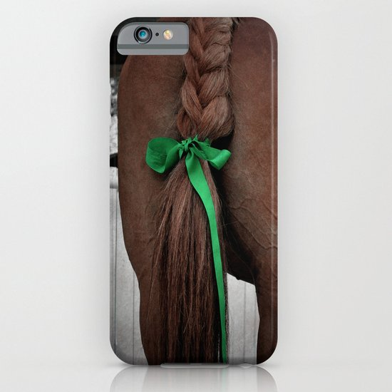 Braided horse tail iPhone & iPod Case