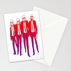 Clones on Fire Stationery Cards