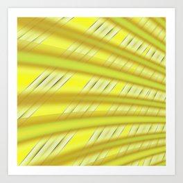 Fractal Play in Citruslicious Art Print