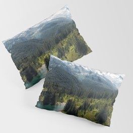 Mountain, Scenic, Rainier, Eunice Lake, National Park, Parks 2016 Pillow Sham