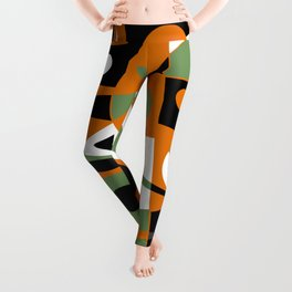 Abstract #977 Leggings
