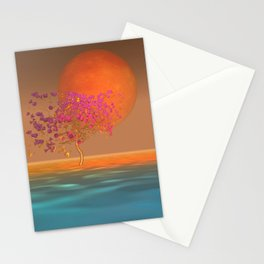peaceful time -15- Stationery Cards