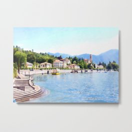 Living Spa Metal Print