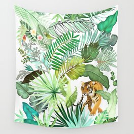 Jungle Tiger 03 Wall Tapestry