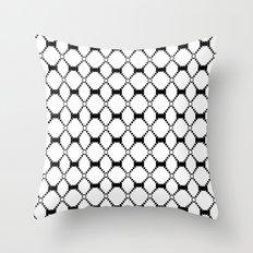 B&W pattern Throw Pillow