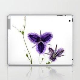 Vintage Wildflower Purple Laptop & iPad Skin