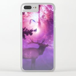 The enchanted forest Clear iPhone Case