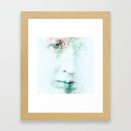 Silent Blue Framed Art Print