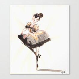 Vogue Ballerina! Canvas Print