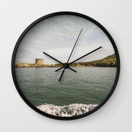 Irish coastline Wall Clock