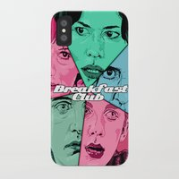 the breakfast club iPhone & iPod Cases featuring Breakfast Club Colors by David Amblard