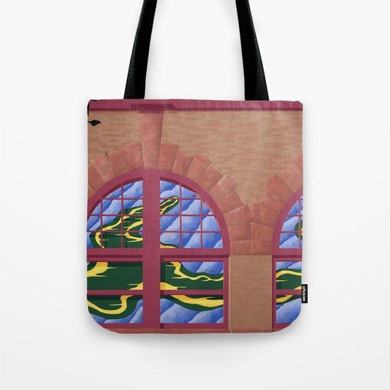 Avery Block Tote Bag