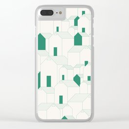 Hill Houses Clear iPhone Case