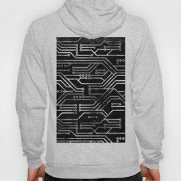 Circuit, tech electronics Hoody