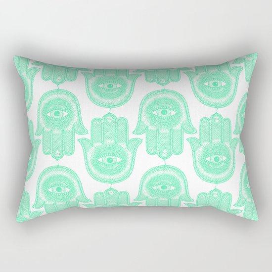Hamsa  Rectangular Pillow