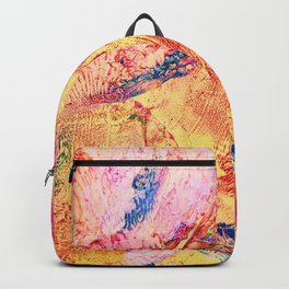 Goldfinch Abstract Painting Backpack