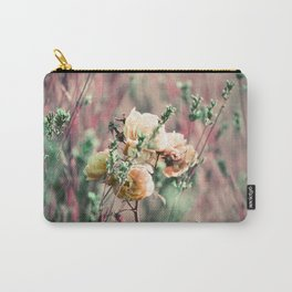 Flowers on Lomochrome Film Carry-All Pouch