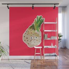 Grumpy Celeriac Wall Mural