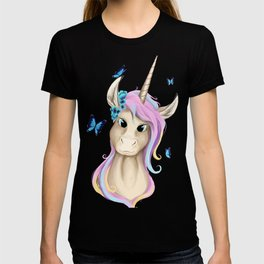 Unicorn Foal Bust T-shirt