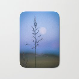 Tall Grass in Spring Bath Mat