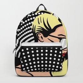 Popart Girl Backpack