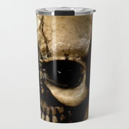 Antiqued Skul Travel Mug
