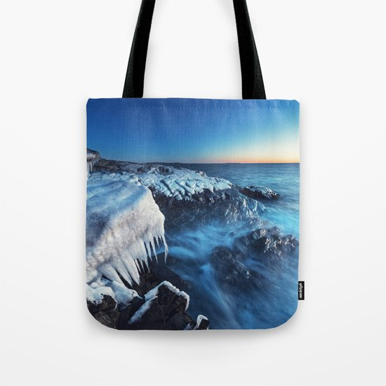 Dangling in Twilight Tote Bag