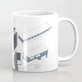 Composition Hand Drawing/Section,Plan,Elevation,Axonometric Coffee Mug