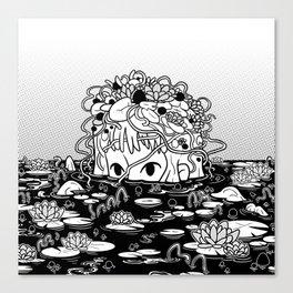 Swamped Canvas Print